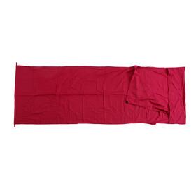 Basic Nature - Drap sac de coton - bordeaux